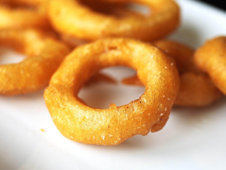onion rings at Tipsy Tuna